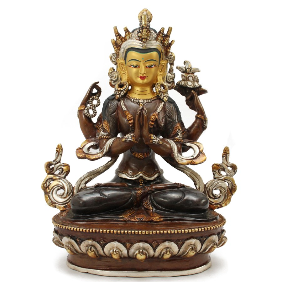 Matchless avalokiteshvara buddha statue accept
