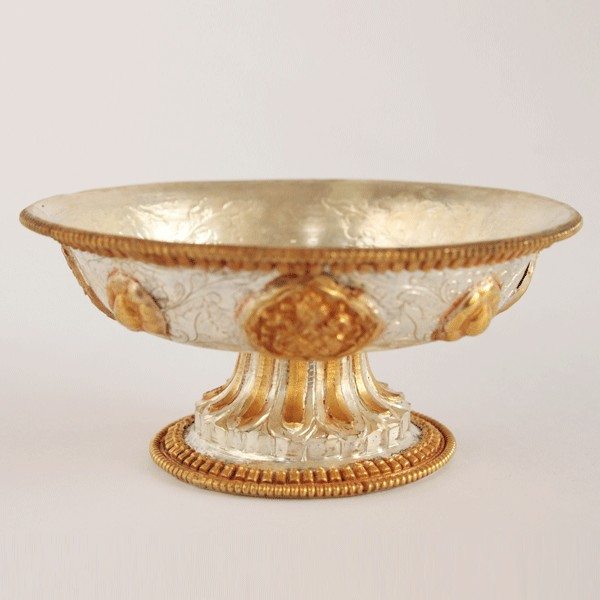 SERKYEM, SILVER AND GOLD PLATED, MASTER QUALITY