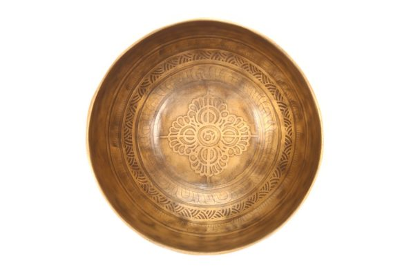 EMBOSSED BAJRA SINGING BOWL
